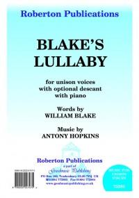 Hopkins: Blake's Lullaby