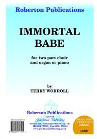Worroll: Immortal Babe