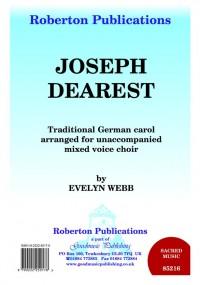 Webb: Joseph Dearest