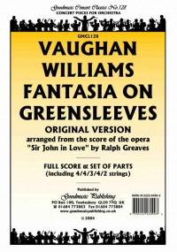Vaughan Williams: Fantasia On Greensleeves (Orig) Pk