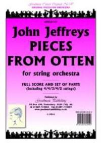 Jeffreys John: Pieces from Otten  Score