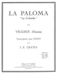 Sebastian Yradier: La Paloma (La Colombe)