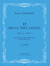 Romain Worschech: Pièces très faciles (15) cahier n°1