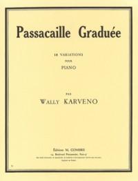 Wally Karveno: Passacaille graduée (18 variations)