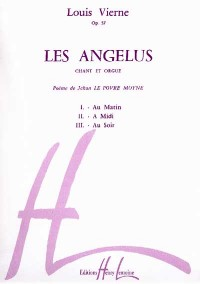 Les Angelus Op.57 (voice/organ)