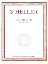 Stephen Heller: Etudes (25) Op.47 (2 volumes réunis)