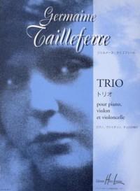 Germaine Tailleferre: Trio