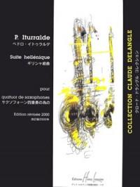 Suite Hellenique (sax ensemble)