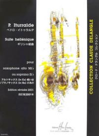 Suite Hellenique (saxophone and piano)
