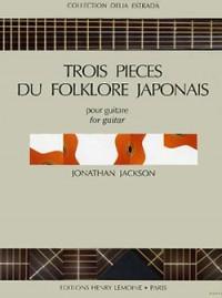 Jonathan Jackson: Pièces (3) Folklore Japonais