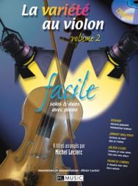 Michel Leclerc_Olivier Leclerc: La variété au violon Vol.2