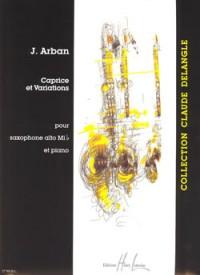 Joseph Arban: Caprice et variations