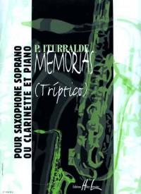 Memorias (clarinet and piano)