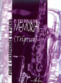 Pedro Iturralde: Memorias (Triptico)