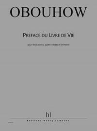 Nicolas Oboukhov: Préface du Livre de Vie
