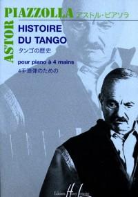 Histoire du tango (piano duet)