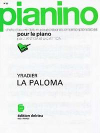 Sebastian Yradier: La Paloma (La Colombe) - Pianino 27