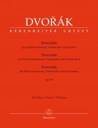 Dvorák, Antonín: Serenade for Wind Instruments, Violoncello and Double Bass op. 44