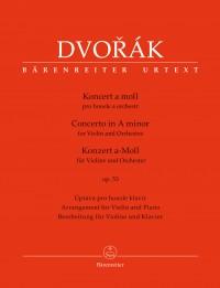 Dvorák, Antonín: Concerto for Violin and Orchestra in A minor op. 53