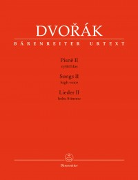 Dvořák: Songs II for High Voice and Piano