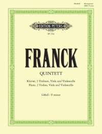 Franck, C: Piano Quintet in F minor