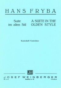 Suite in Olden Style (double bass)