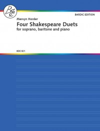 Horder, M: Four Shakespeare Duets