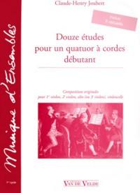 Claude-Henry Joubert: Etudes (12)