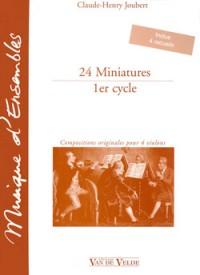 Claude-Henry Joubert: Miniatures (24)