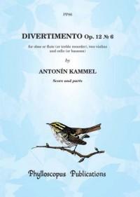 Kammel: Divertimento Op. 12 No. 6 - Score and Parts