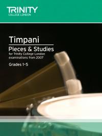 Trinity Guildhall Timpani Pieces & Studies. Grades 1-5