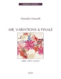 Howell: Air, Variations & Finale