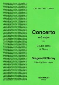 Domenico Dragonetti: Concerto in G major