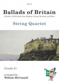 Ballads of Britain for String Quartet