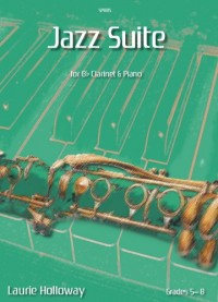 Holloway: Jazz Suite for Bb Clarinet & Piano