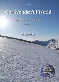 White: Our Wonderful World for Trumpet