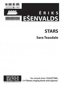 Esenvalds, Eriks: Stars (SSAATTBB)