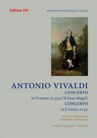 Vivaldi, A: Two Flute Concertos