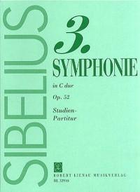 Jean Sibelius: Symphony No.3 In C Op.52 (Study Score)