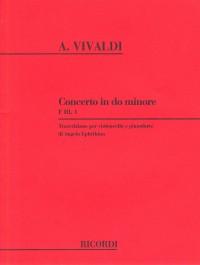 Antonio Vivaldi: Concerto In C Minor RV401 (Cello and Piano)