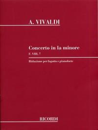 Vivaldi: Concerto in A Minor FVIII/7