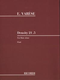 Edgard Varese: Density 21.5