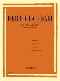 Edgar Herbert-Caesari: 50 Vocalises (Vowelisation Exercises)
