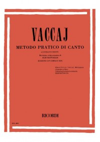 Nicola Vaccai: Practical Vocal Method
