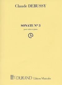Claude Debussy: Sonate No.3