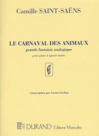Camille Saint-Saens: Le Carnaval des Animaux (Piano Duet)