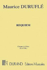Maurice Durufle: Requiem (Choral Score)