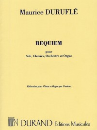 Maurice Durufle: Requiem Op.9 (Vocal Score)