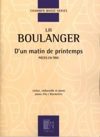 Lili Boulanger: D'un Matin De Printemps (Piano Trio)