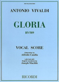 Vivaldi: Gloria (Vocal Score)